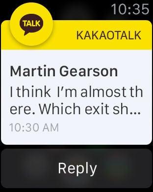 kakaotalk notifications not working