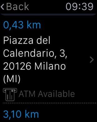 Piazza Del Calendario 3 Milano.Apple Watch App Watchaware