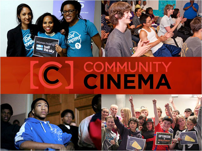 Community Cinema Social Composite of Events