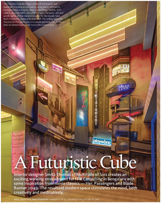 ITW\'s Future Cube interior features on Better Interiors Magazine