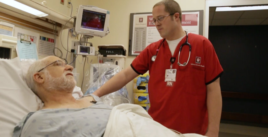 Video: Experience a day in the life of an IU Health Inpatient Nurse.