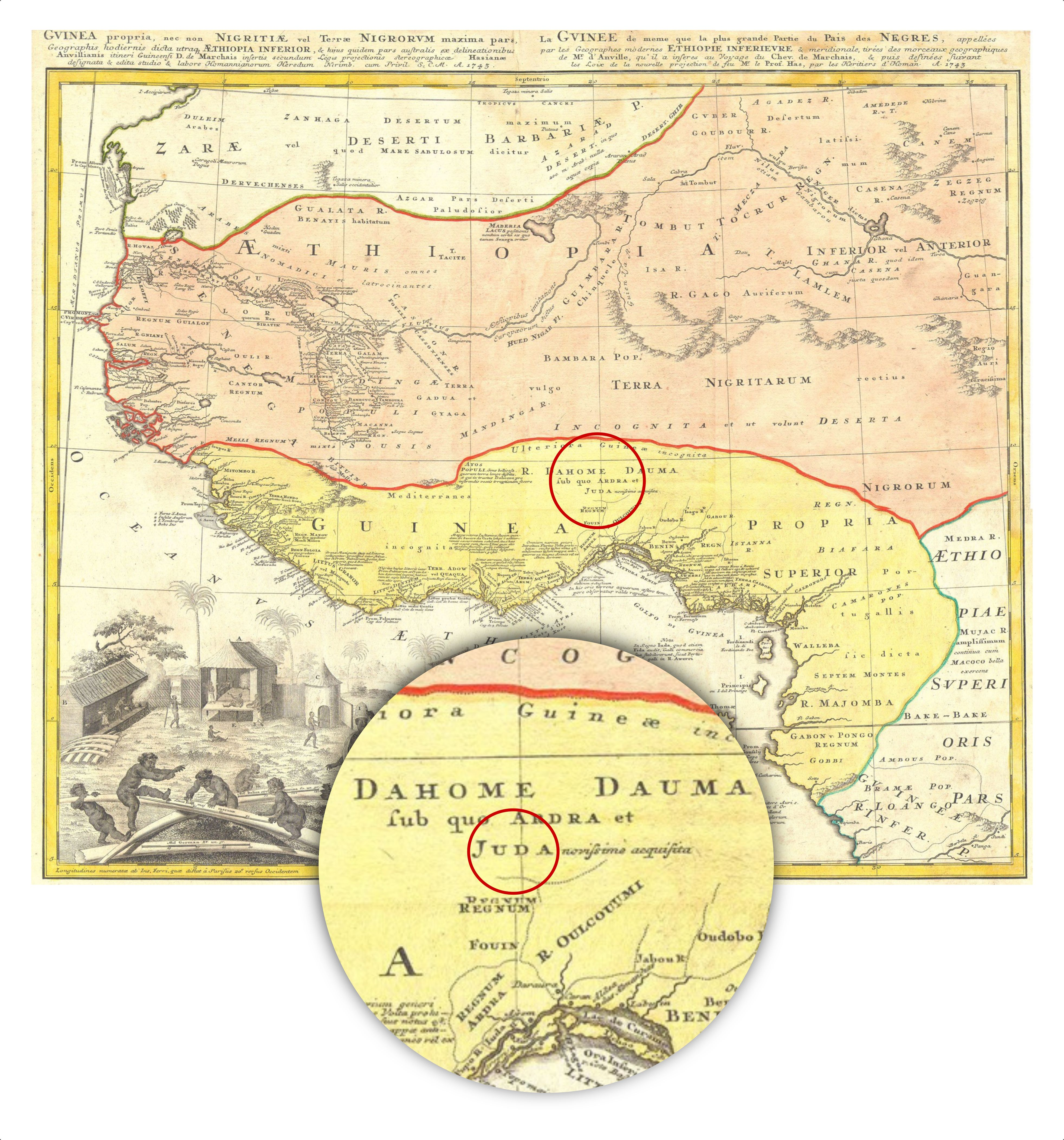 West Africa Map Israel United In Christ