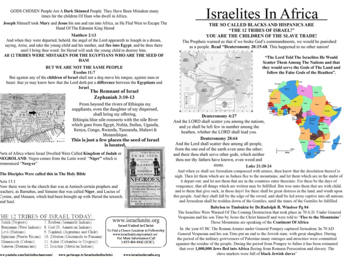Israelites In Africa