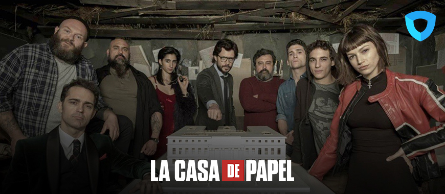 Spanish hit series La casa de papel - money heist - Reviewed