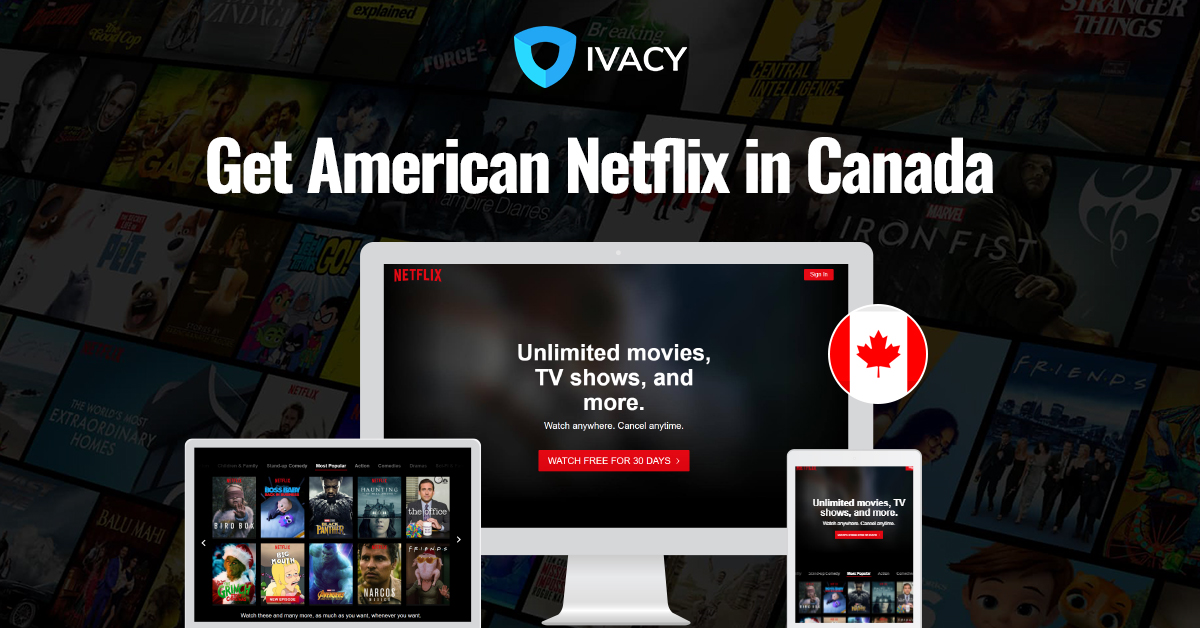 can you get netflix usa in canada