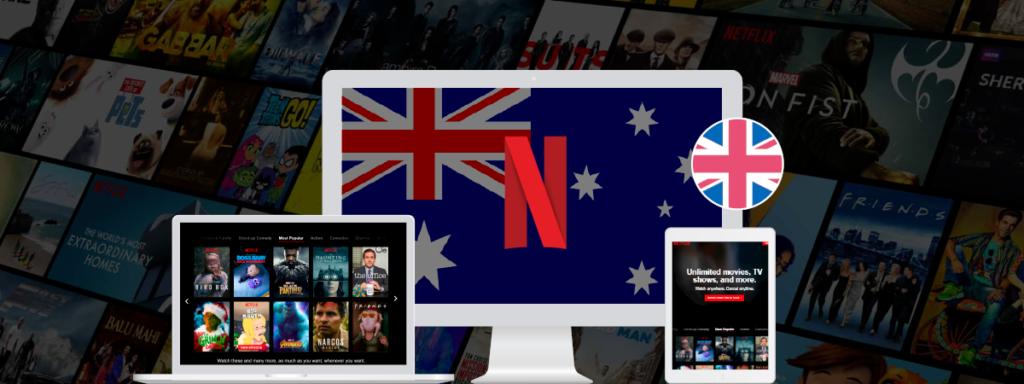 Get Australian Netflix In UK
