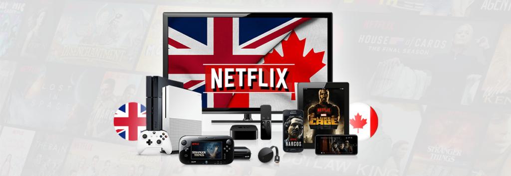 Get Canadian Netflix in UK