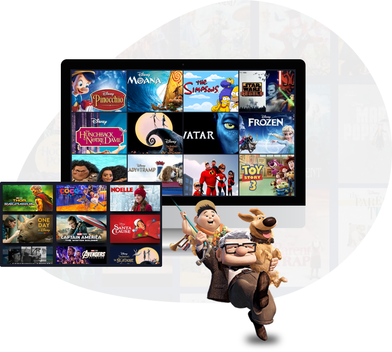 Watch Movies via Disney Plus VPN