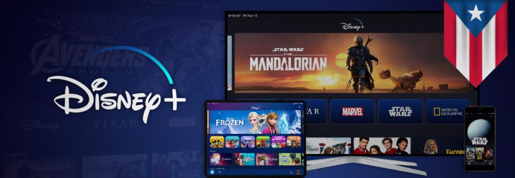 How to watch Disney Plus in Puerto Rico