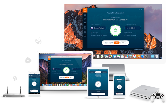 Vpn for All OS, tablets, mobile devices and Xbox console