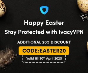 Ivacy Easter Offer