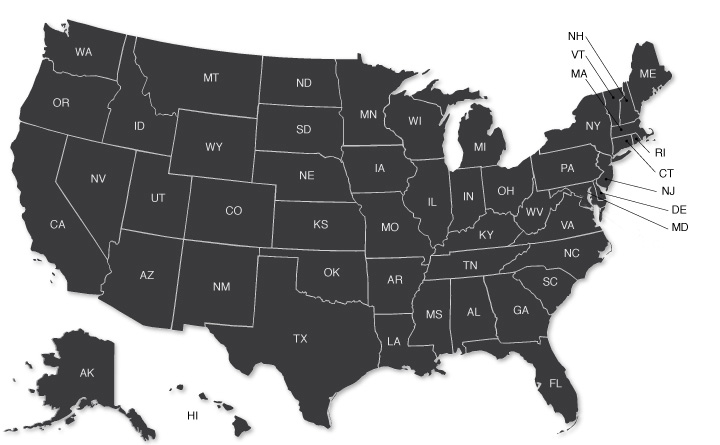 Interactive What Is Your States Risk Of Corruption Center For - Usa map transparent