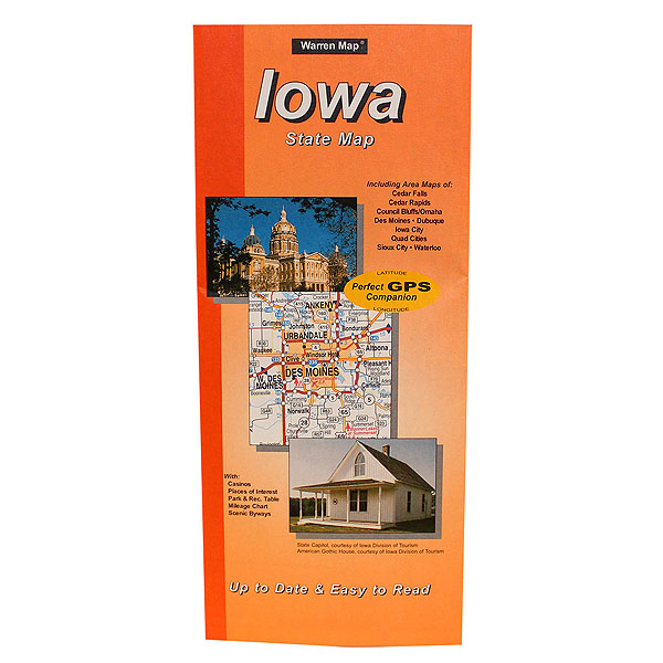 International Wholesale Supply Ia State Paper Map