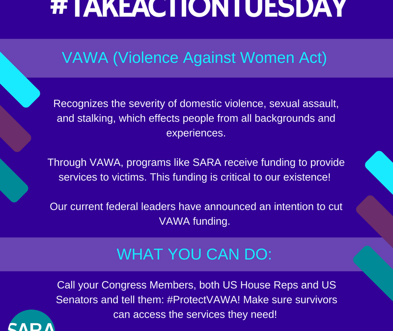#TakeActionTuesday – 02.28.2017