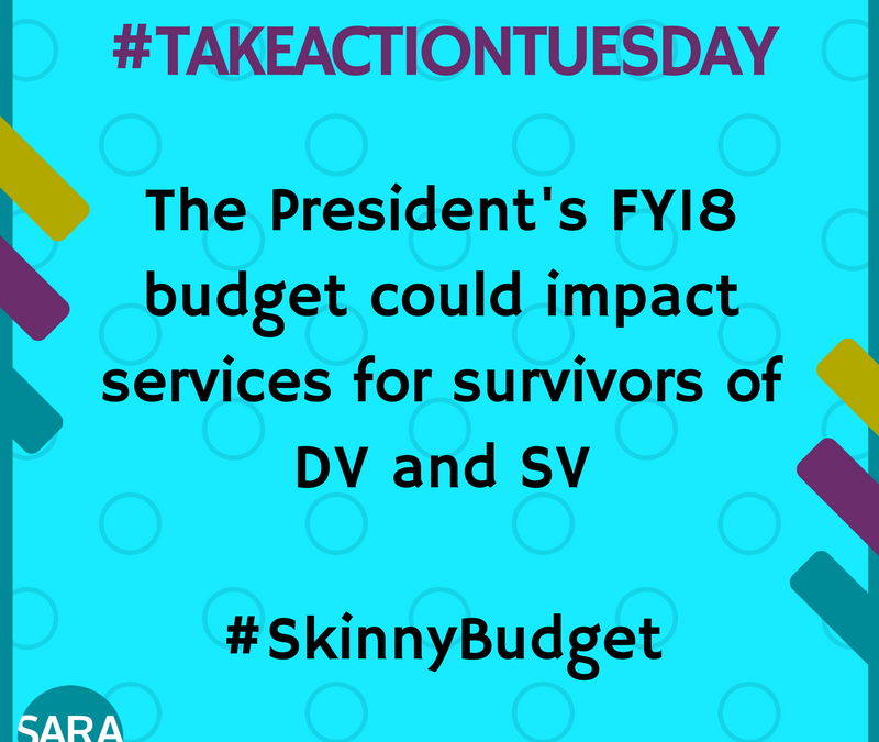 #TakeActionTuesday – 03.21.2017