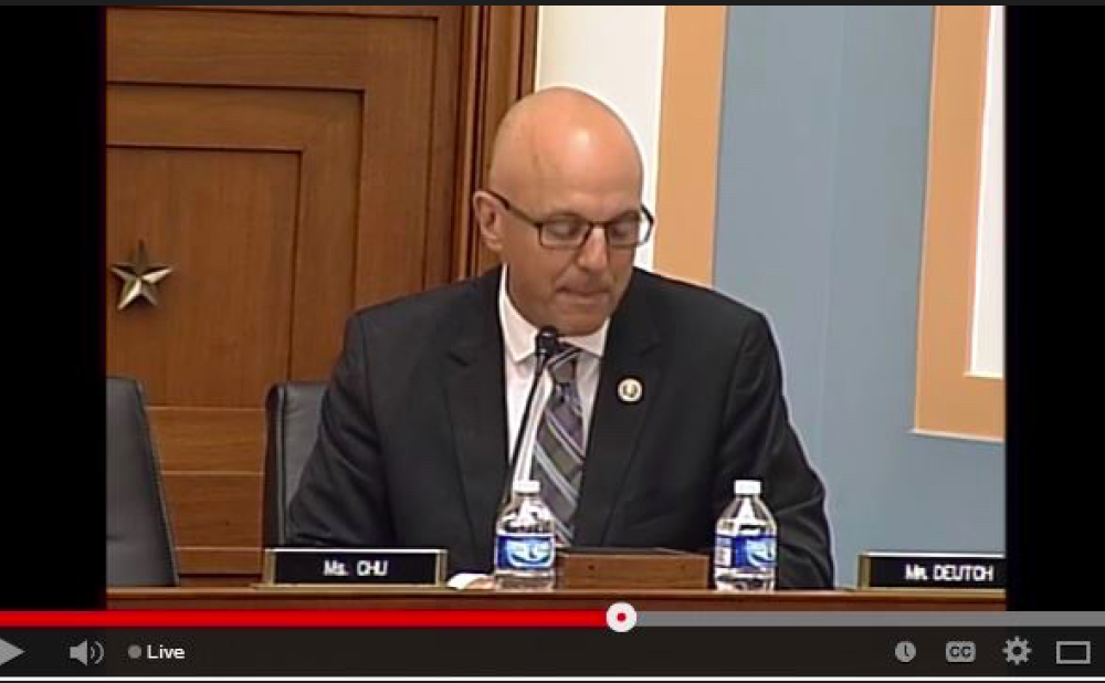 Congressman Ted Deutch speaking at the Planned Parenthood Exposed Hearing