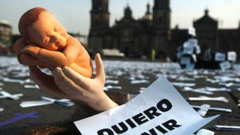 El lobby abortista trata de burlar la ley provida en México