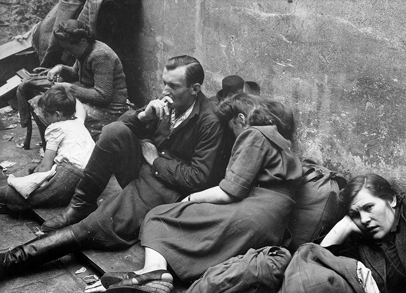 Holocaust survivors wait at a hotel in Czechoslovakia for transportation to Western Europe. (Image credit: Yad Vashem. The World Holocaust Remembrance Center)