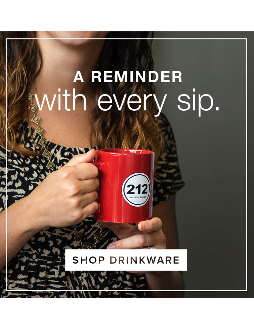 A reminder with every sip
