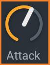 Compressor Attack knob