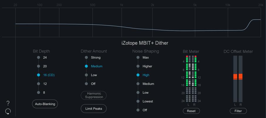 Dither - Ozone 8 Documentation