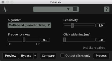 De-click - Help Documentation