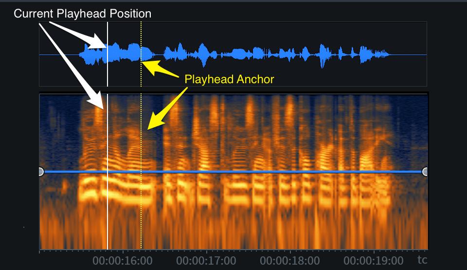 Playhead and Anchor indicators