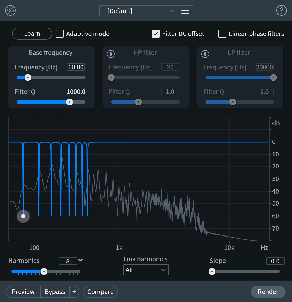 De-hum interface