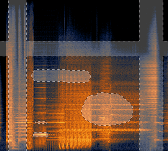 Spectrogram with Rectangular and Freeform Selections