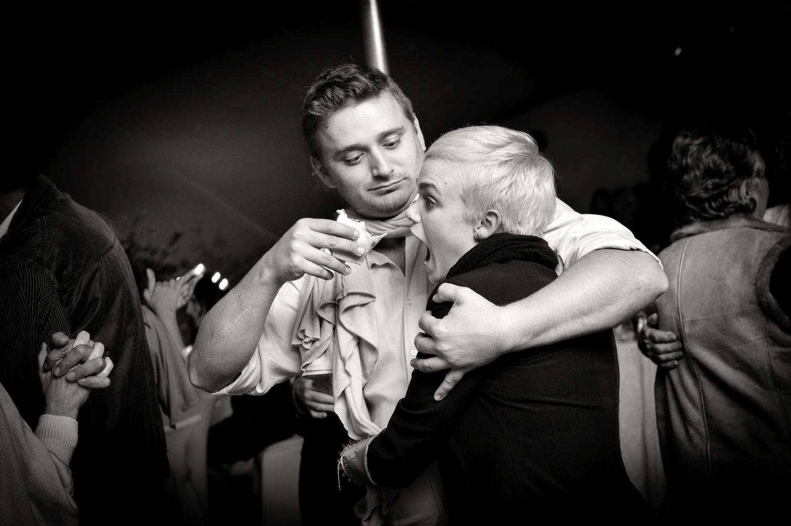 drunk at a wedding