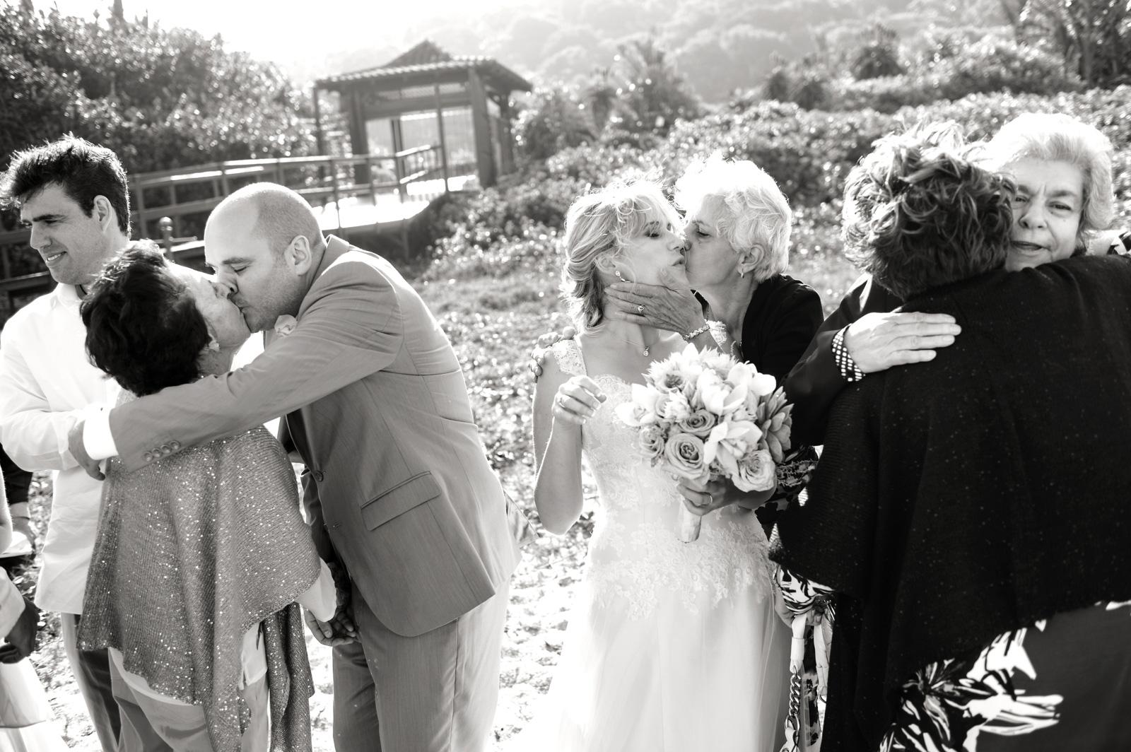 beach wedding congrats