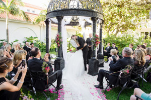 First Kiss Ceremony area at Bride getting into dress Wedding at the Oyster Box Hotel Durban South Africa