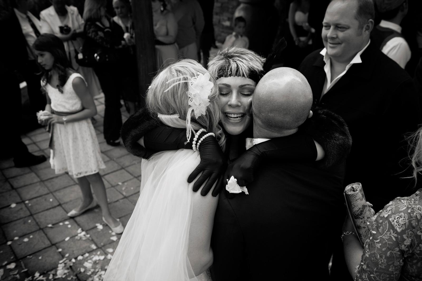 Congrats at Greek wedding