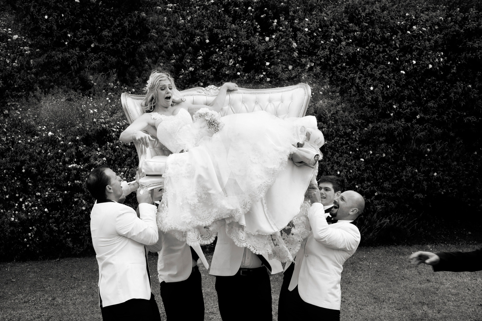 Fun Bridal party photo