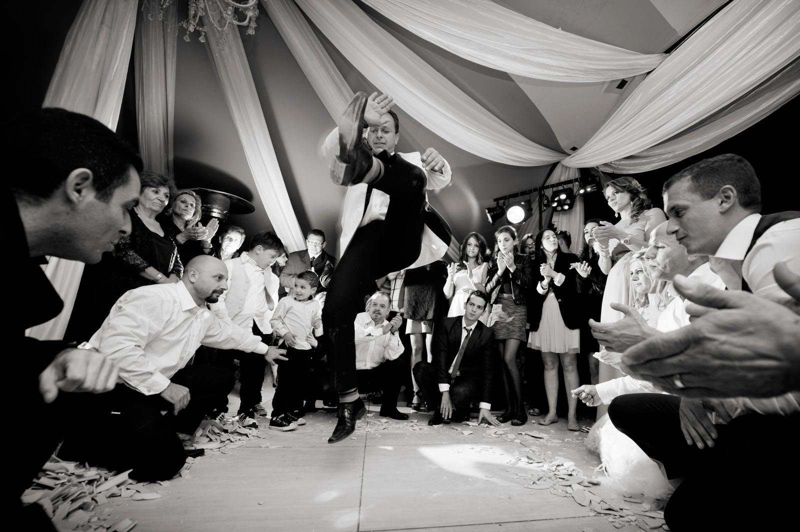 Greek wedding dancing