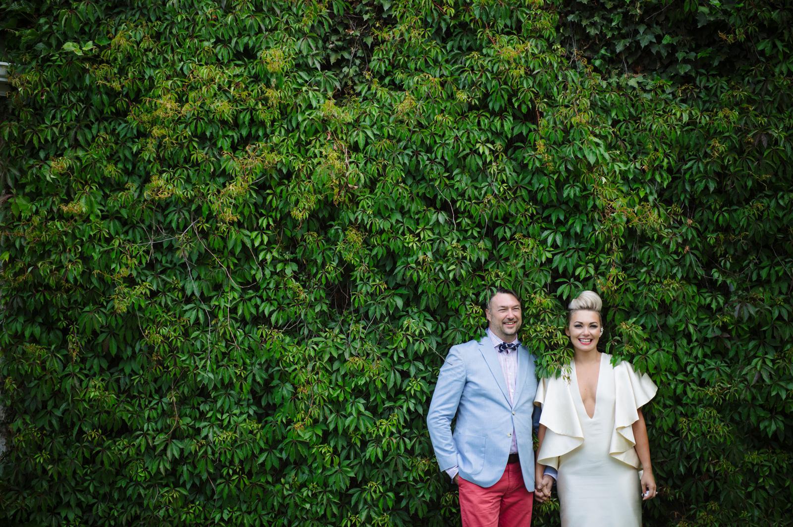 Funky Wedding couple