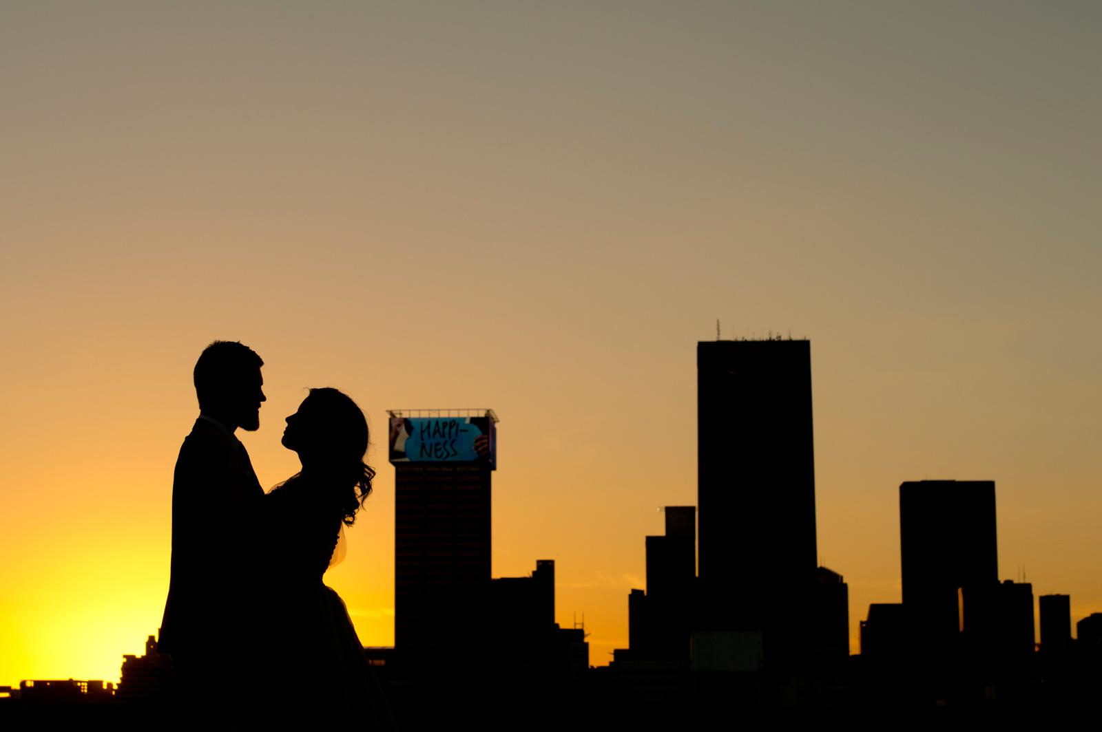 cityscape couple