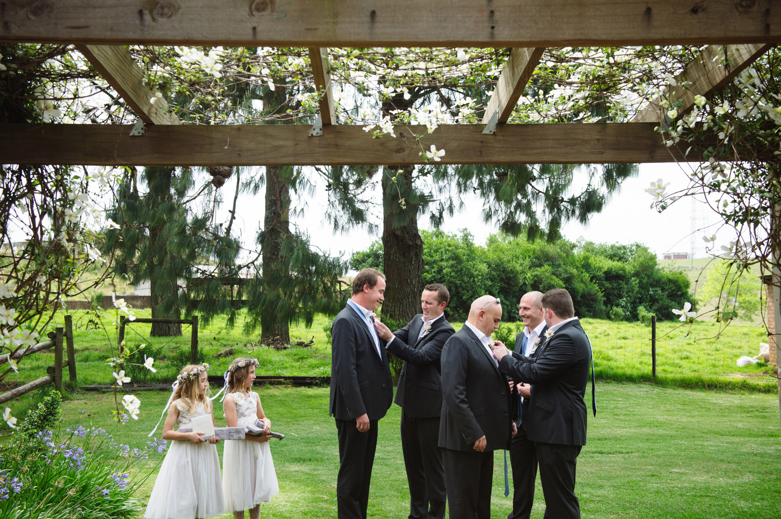 groom getting married