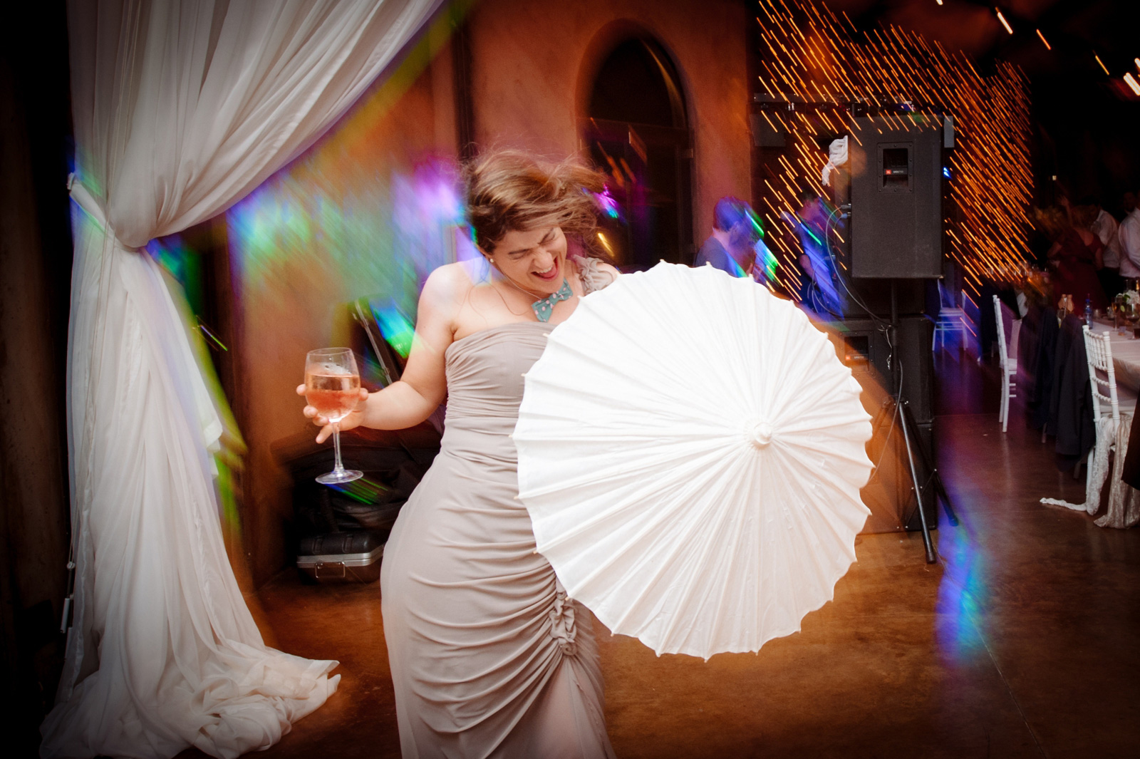 umbrella dancing