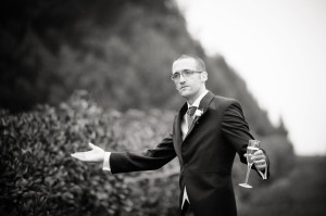 groom confused