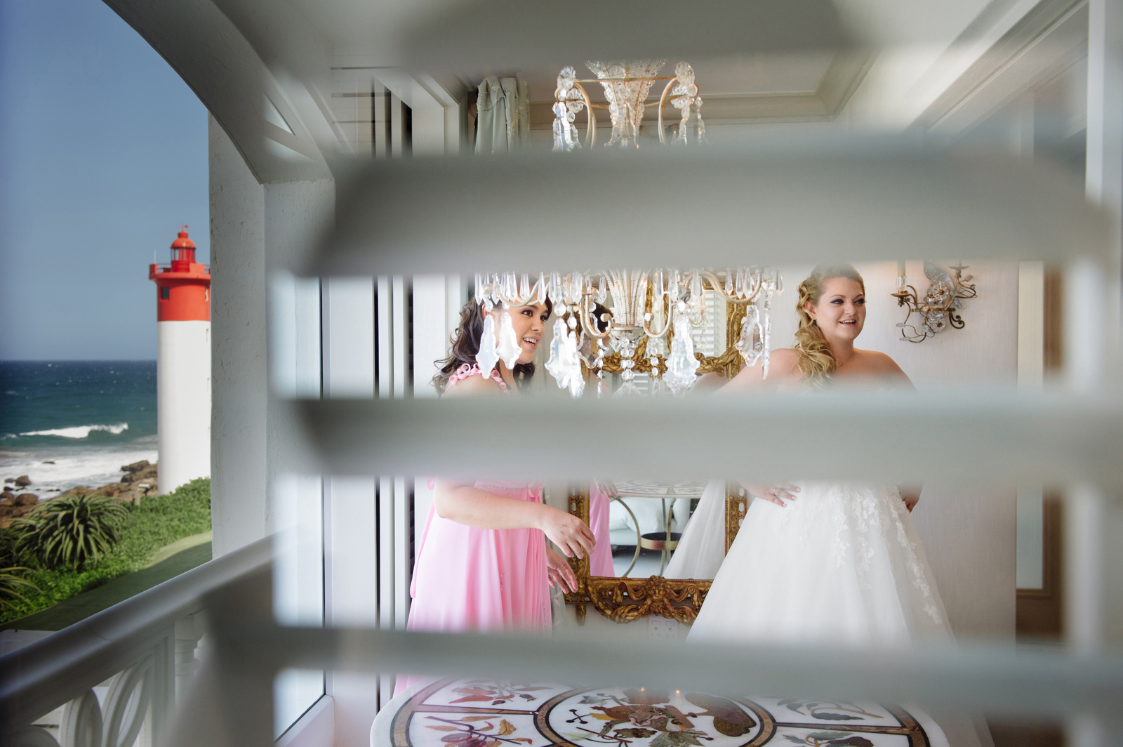 the oyster box hotel bridal prep wedding photography