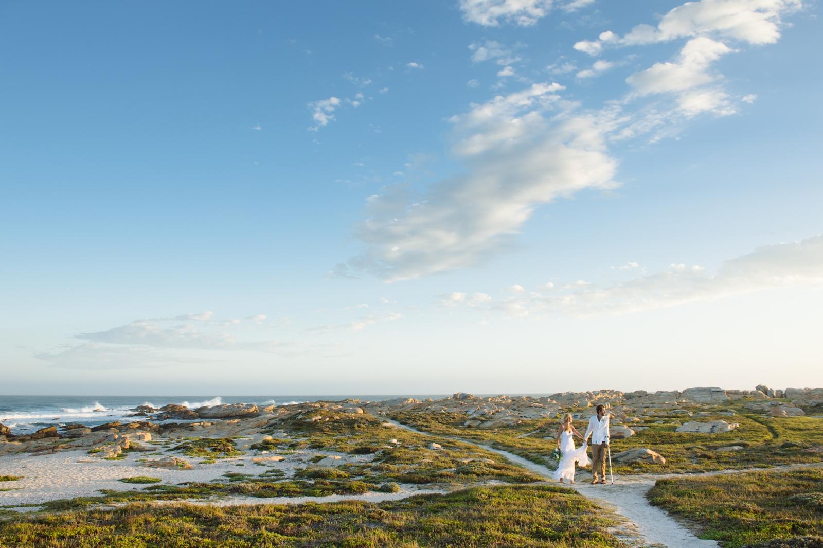 Cape St Fransis wedding
