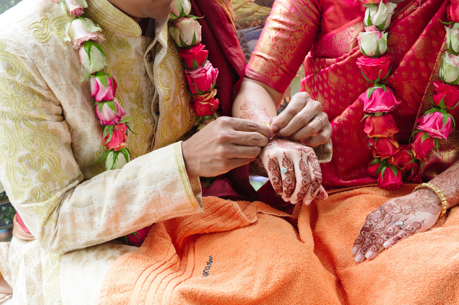 Hindu Christian Wedding Documentary Wedding Photographer Ceremony