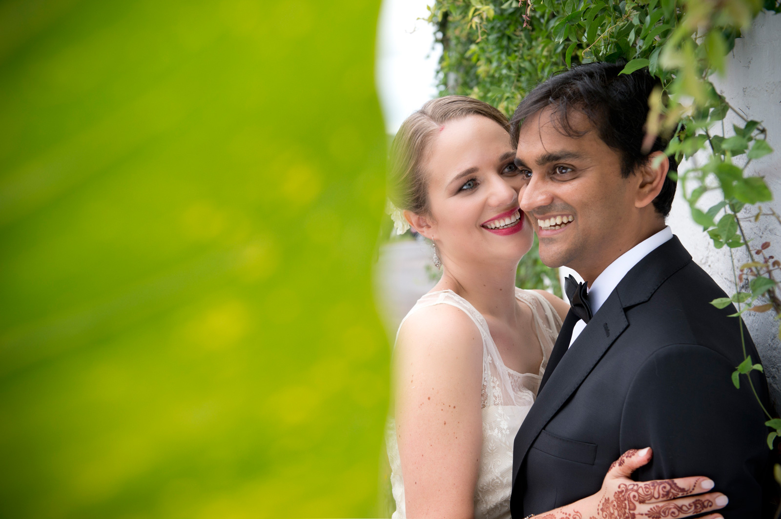 Hindu Christian Wedding Documentary Wedding Photographer Couple Creative Shoot