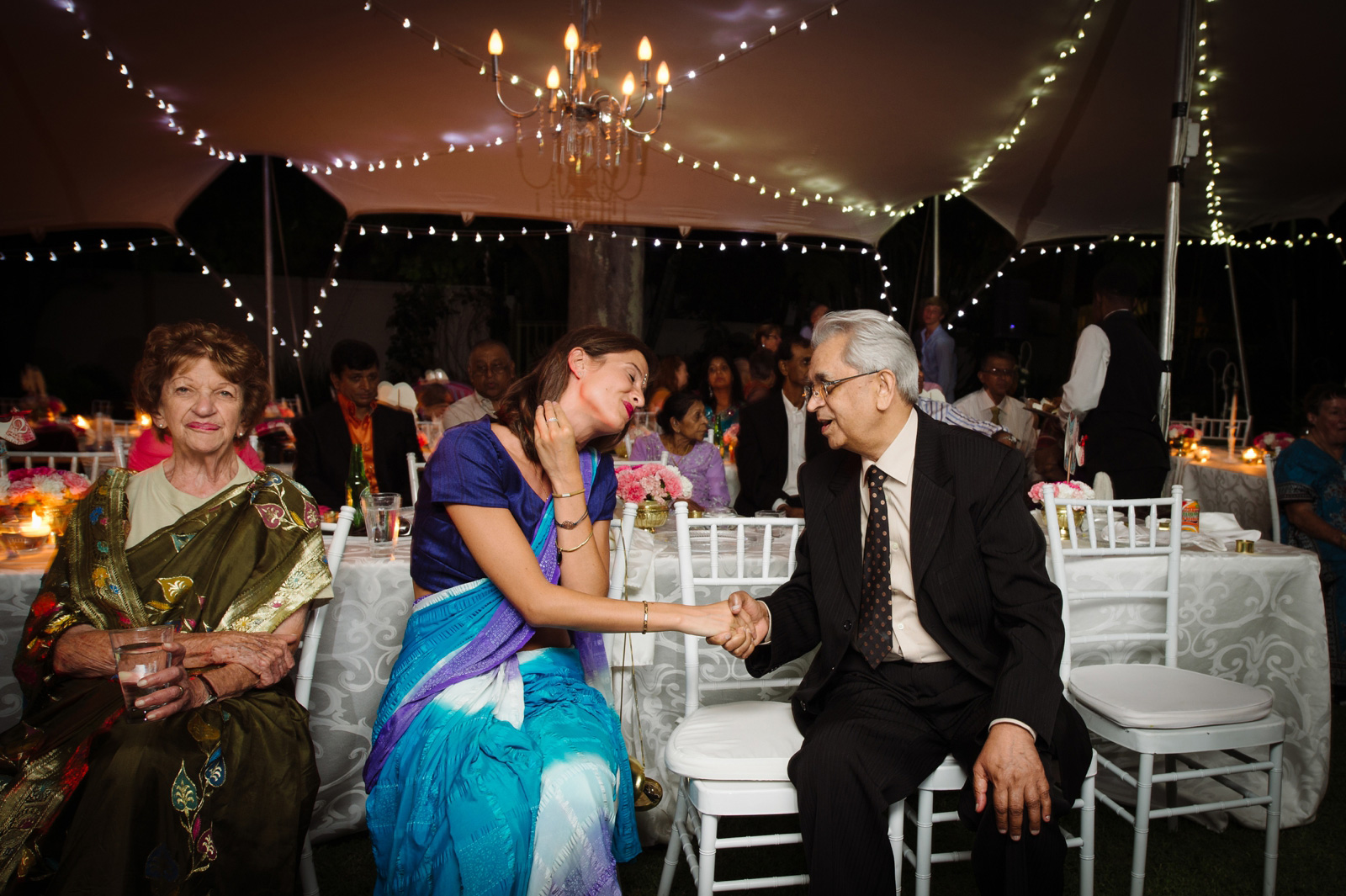 Hindu Christian Wedding Documentary Wedding Photographer Reception