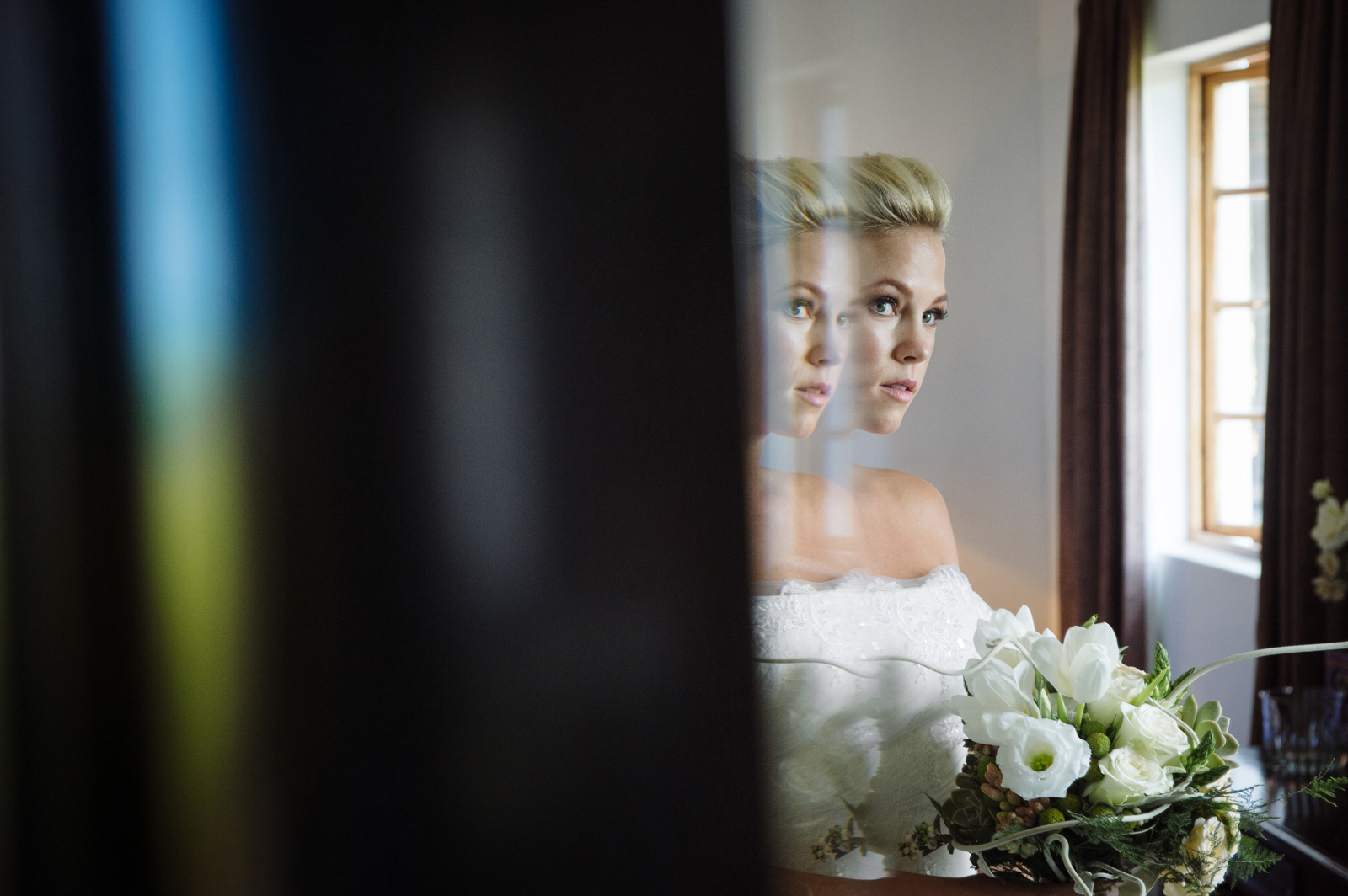 Netherwood Greek Documentary Wedding Photography Bride