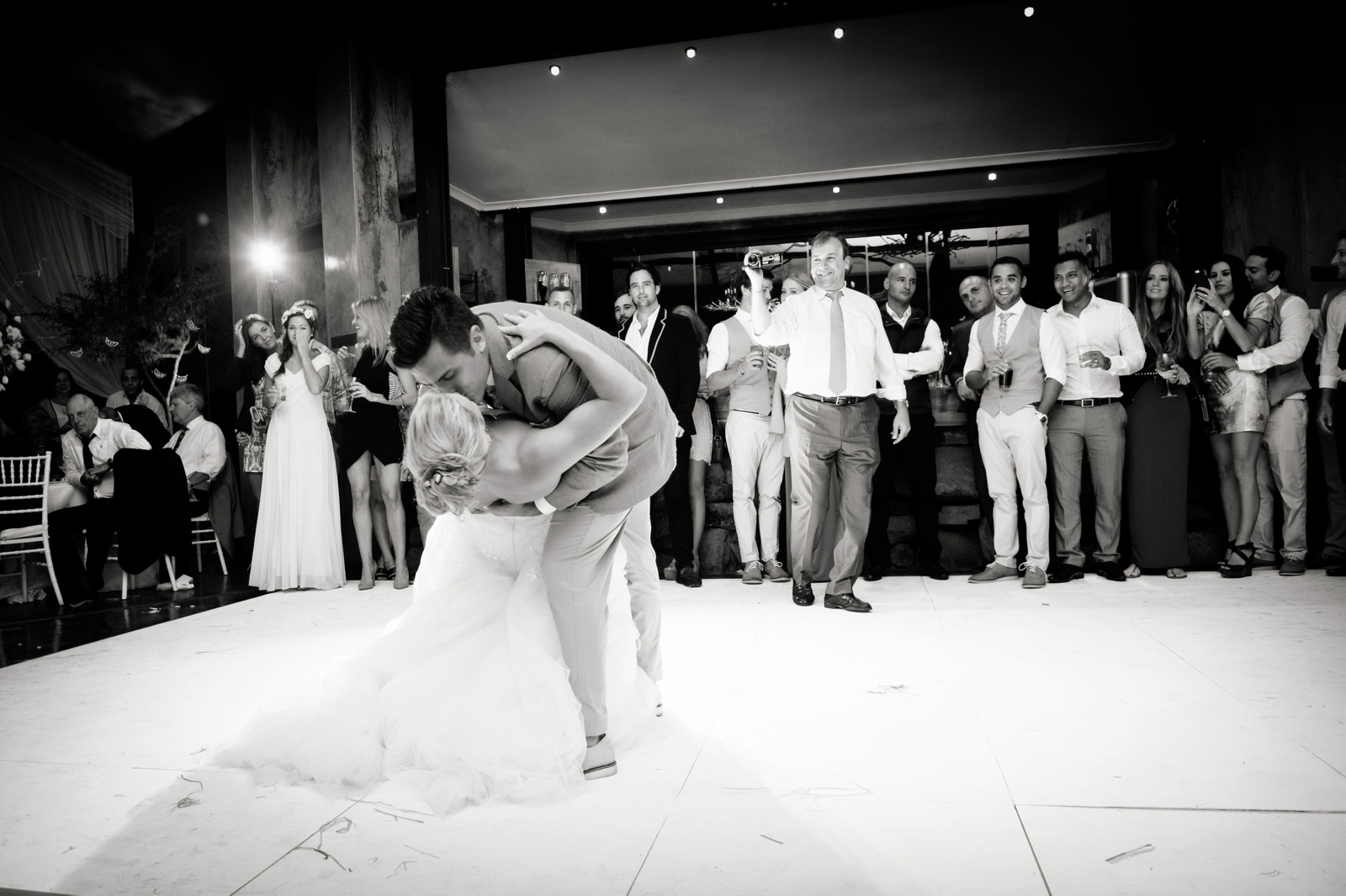 Netherwood Greek Documentary Wedding Photography Reception First Dance