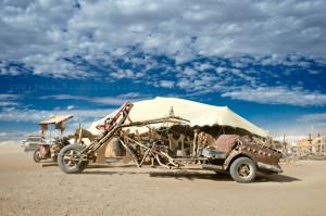 AfrikaBurn Tankwa Mutany vehicle