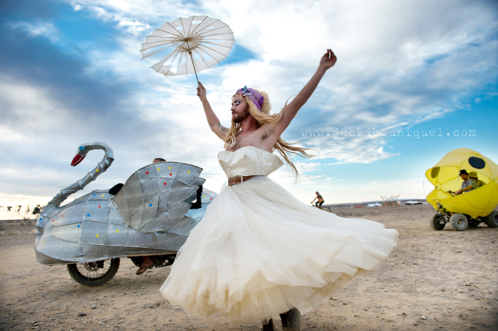 AfrikaBurn Tankwa wedding