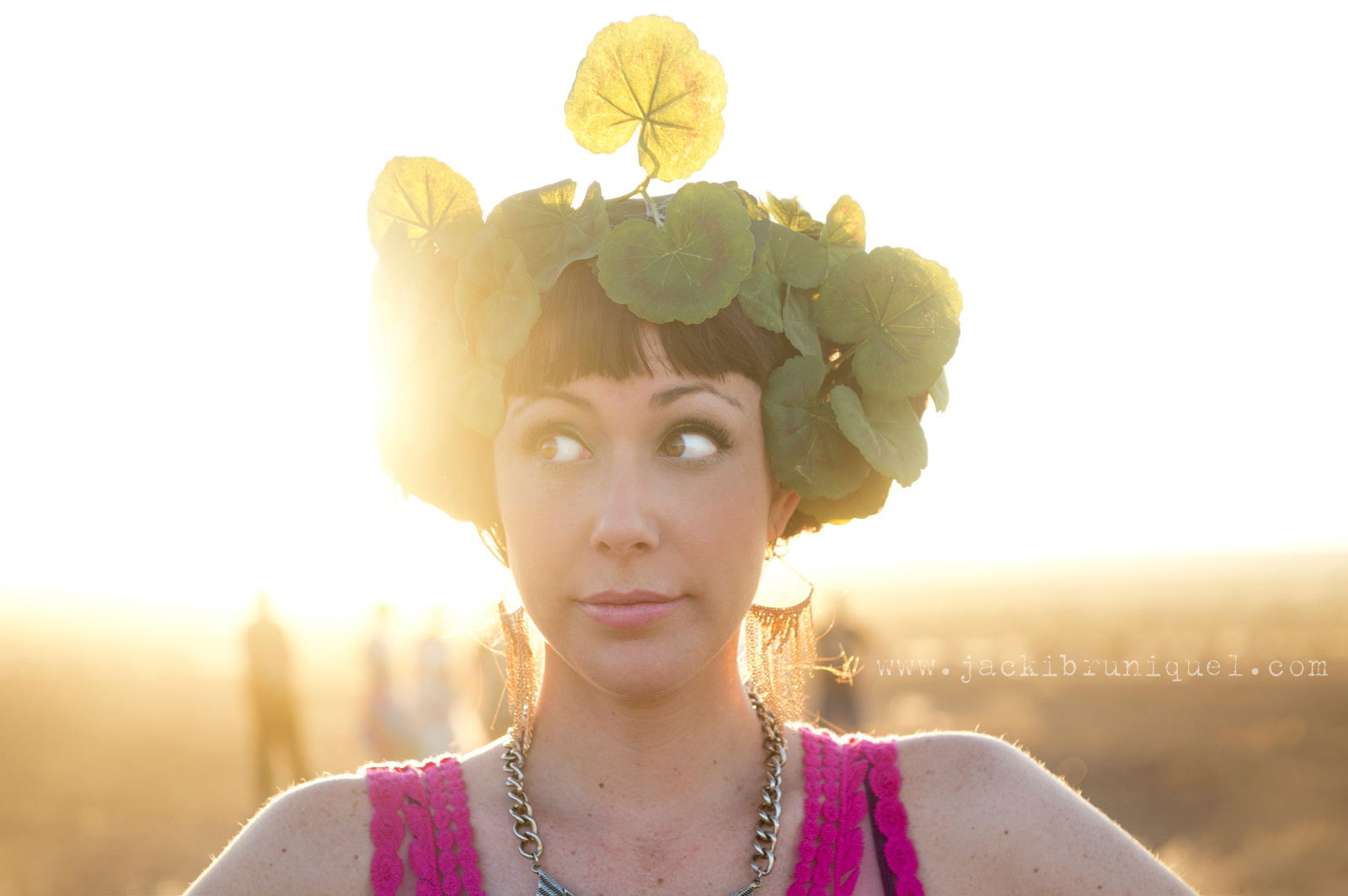 AfrikaBurn Tankwa flower crown